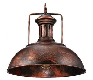 """Industrial Nautical Barn Pendant Light - 16"""" Single Pendant Lamp with Rustic Dome/Bowl Shape Mounted Fixture Ceiling Light Chandelier in Copper for Sale in Stevenson Ranch, CA"""