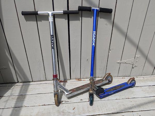 2 Razor Scooters