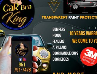 Car Bra Transparent Paint Protection for Sale in Anaheim,  CA
