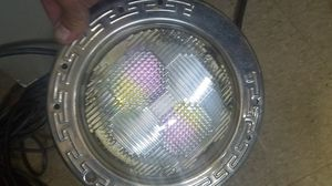 Pentair pool light rotating colors works great for Sale in Tracy, CA