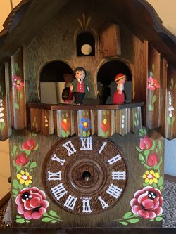 Vintage German Cuendet Wood Cuckoo Clock! Swiss Engineering - READ AD for Sale in Canyon Country, CA