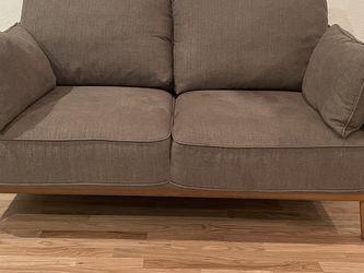 """Mid Modern Sofa LoveSeat 62"""" for Sale in Littleton,  CO"""