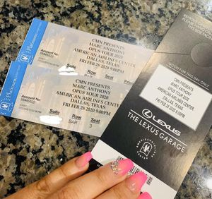Marc Anthony tickets boletos for Sale in Grand Prairie, TX