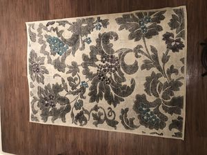 Gray purple and blue rug for Sale in Davie, FL