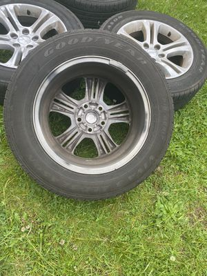 Original Tires and Rims in a well mantaince. Dodge Charger 2015. for Sale in Belleville, NJ