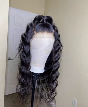 22 inch 100% virgin deep wave wig for Sale in Itasca, IL