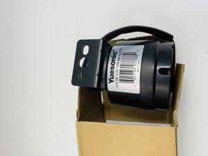 Yuesonic Universal 10-24V 100dB alarma de respaldo impermeable con soporte de spray de plástico negro for Sale in Glendale, CA
