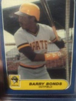 1986 Fleer Update Barry Bonds Rookie Rare for Sale in Yakima,  WA