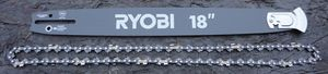 Ryobi 18in Chainsaw Guide Bar And Chain for Sale in Graham, WA