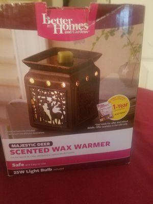 Better Homes Majestic Deer wax warmer for Sale in Cuba, MO