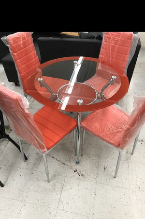 Dining set 4 Chairs BRAND NEW for Sale in Miami, FL