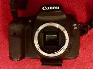 Canon EOS 7D - 18.0 Megapixel Digital SLR Camera Body V for Sale in Demarest, NJ