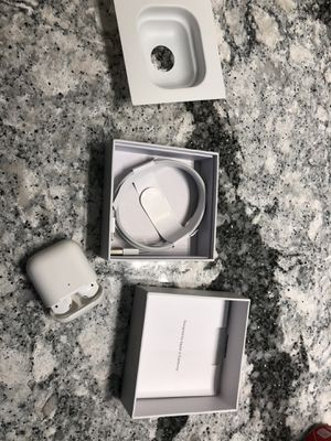 AirPods series 2 with wireless charging for Sale in Duluth, MN