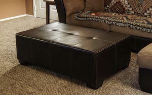 Large Leather Ottoman for Sale in Phoenix, AZ