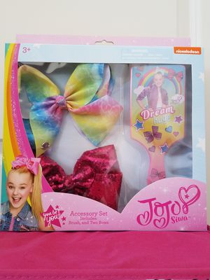 New Nickolodeon Siwa girls hair accessory 3 piece gift set - $15 for Sale in Rockville, MD