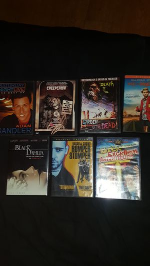 7 dvd lot for Sale in Baldwin Park, CA