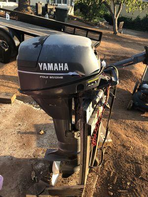 2001 Yamaha 9.9 4 Stroke outboard motor for Sale in Vista, CA