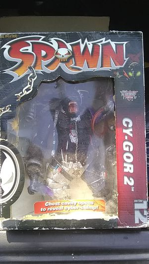 Spawn series 12 cy-gor 2 action figure for Sale in Hacienda Heights, CA