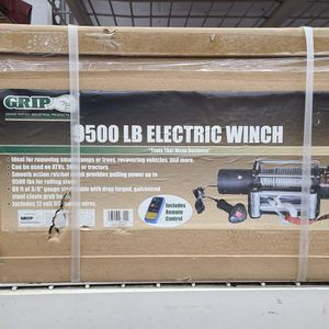 9500 lb winch Grip for Sale in South Windsor, CT