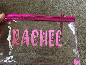 Clear Makeup Bag for Sale in Graham, WA