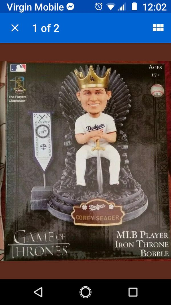 Dodgers game of thrones bobbleheads 45$ each