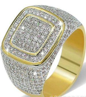 *NEW ARRIVAL* Magnificent White Sapphire Pave Ring Jewelry SZ 7 / 8 / 9 *See My Other 300 Items* for Sale in Palm Beach Gardens, FL