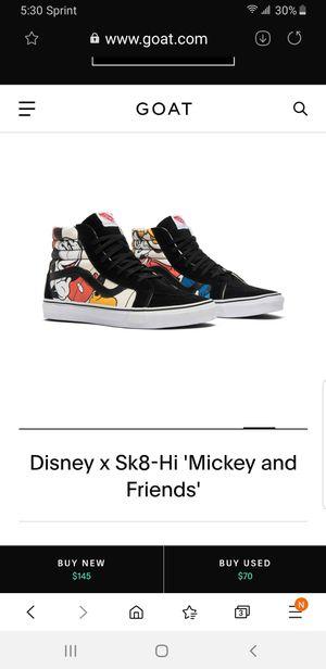 Vans sk8 hi Disney for Sale in Los Angeles, CA