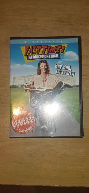 Fast Times at Ridgemont High DVD for Sale in Whittier, CA
