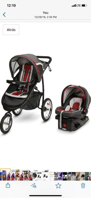 Baby & Kids stroller and car seat with base for car GRACO for Sale in Hialeah, FL
