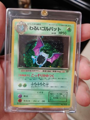 Pokemon Card Dark Golbat Holo for Sale in Maitland, FL
