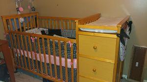 Crib/toddler bed/changing table/dresser for Sale in Salt Lake City, UT