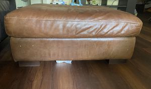 Leather Ottoman for Sale in Braintree, MA