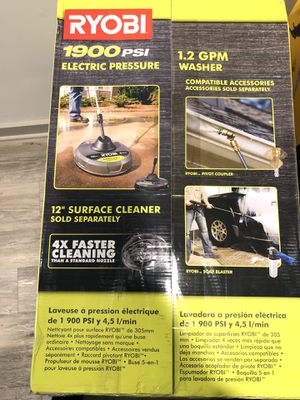 Electric pressure washer for sale!! Brand new! for Sale in Atlanta, GA
