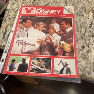 The Disney Channel Magazine Sept 1985 for Sale in Gurnee, IL