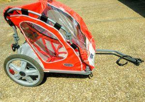 In step orange Double Bike Trailer for Sale in Arlington, TX