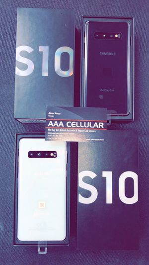 Samsung Galaxy S10 E / S10 / S10+ Brand New In Box / Like New - Factory Unlocked Starting @ for Sale in Arlington, TX
