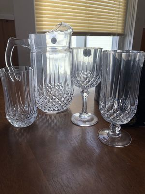 Beautiful crystal made in France for Sale in Worcester, MA