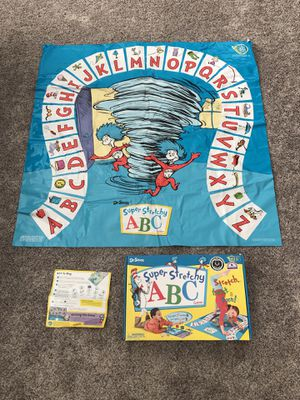Rare HTF The Wonder Forge Super Stretchy Dr Suess ABC Kids Game for Sale in Litchfield Park, AZ