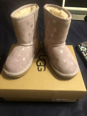 Pink Stars (kids) Toddler Ugg Boot size 9 for Sale in Washington, DC