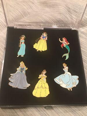 Disney Princess enameled cloisonne' pins for Sale in Santa Ana, CA