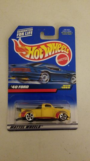 Hotwheels '40 Ford Collector # 1069 for Sale in Los Angeles, CA