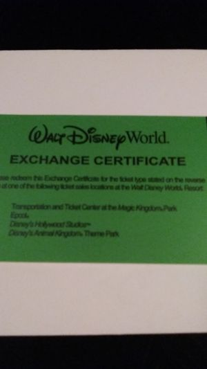 Disney water park pass for Sale in Tampa, FL