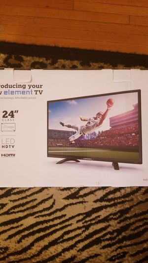 BRAND NEW Element TV 24 inch for Sale in Irvington, NJ