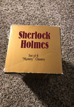 Sherlock Holmes VHS tapes 4 set classics for Sale in Mill Hall, PA