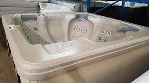 Pre-owned LA Spa 5-5 person Hot Tub with lounge for Sale in Chandler, AZ