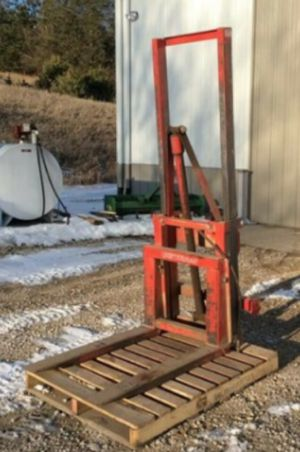 Westerndorf hydrolic forklift attachment for Sale in Chesterfield, VA
