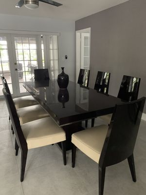 Dining table with chairs and buffet for Sale in Miami, FL