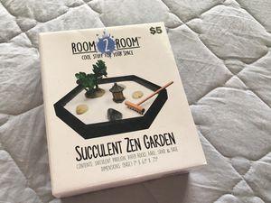 Zen garden succulent for Sale in Kissimmee, FL