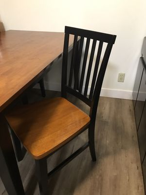 Disconnect everything today new Table and four chairs for Sale in Arden-Arcade, CA