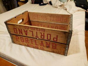 Wood Crate Portland Bottling Co for Sale in San Jose, CA